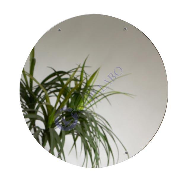 miroir incassable acrylique 600x400mm coop labo