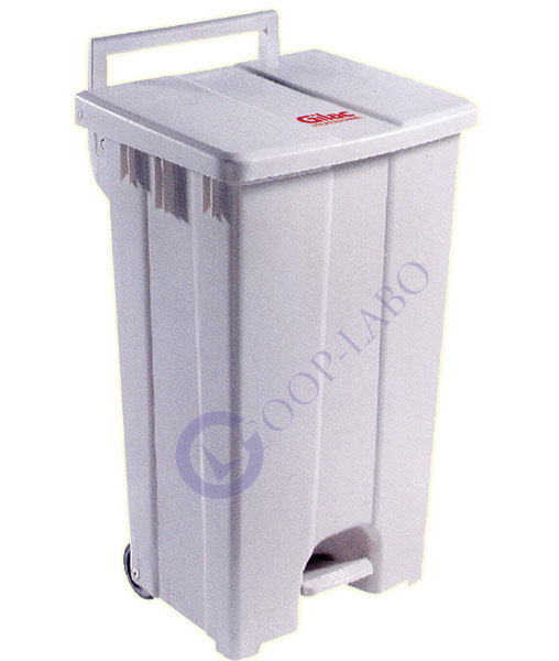 Collecteur mobile 100 L plastique