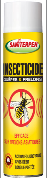 INSECTICIDE SANITERPEN INSECTES VOLANTS 600ML