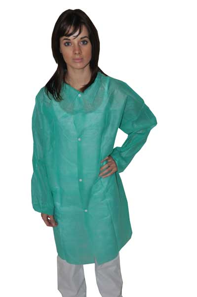 BLOUSE POLYPROPYLENE VERTE cart 50 XL