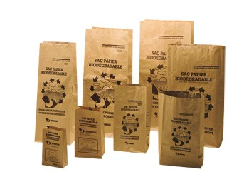 Sacs papier kraft biodegradable