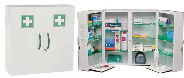 scurit stockage manutention scurit signaltique armoire pharmacie coop labo. Black Bedroom Furniture Sets. Home Design Ideas