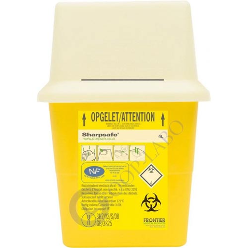 CONTAINER SHARPSAFE 4L