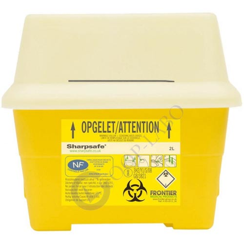 CONTAINER SHARPSAFE 2L