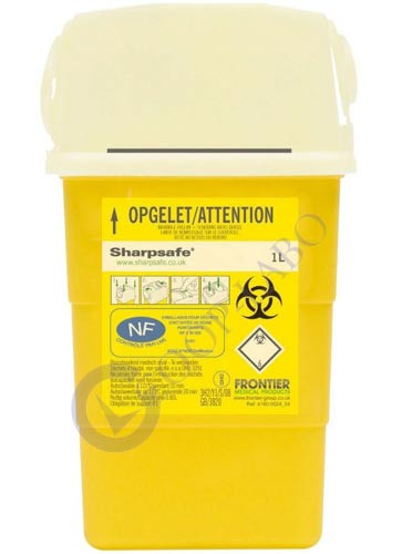 CONTAINER SHARPSAFE 1 L