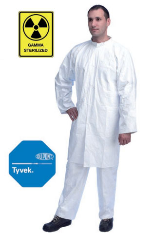 BLOUSE LABO TYVEK STERILE ISOCLEAN