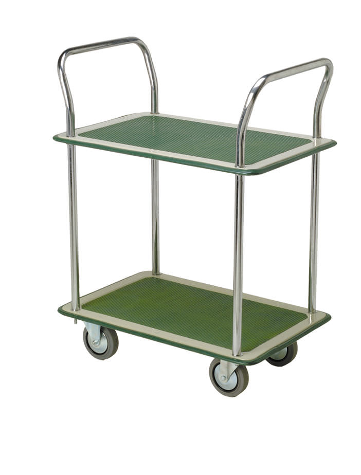 Chariot 2 plateaux multi usage coop labo - Chariot de jardin multi usage ...