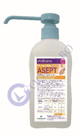 PHAGO'DERM ASEPT SAVON DESINFECTANT 500ml