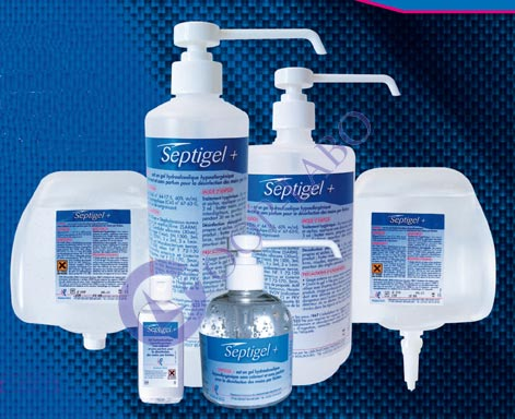 Gel hydroalcoolique SEPTIGEL PLUS