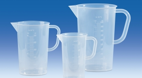 CARAFE GRADUEE 1000ML AUTOCLAVABLE