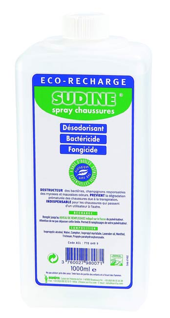 RECHARGE SUDINE CHAUSSURE 1000 ML
