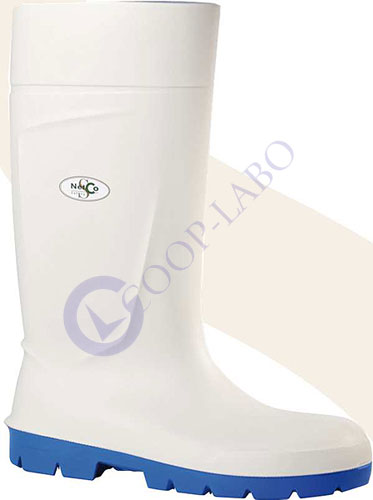 BOTTE AVEYRON SECURITE PU BLANC P40