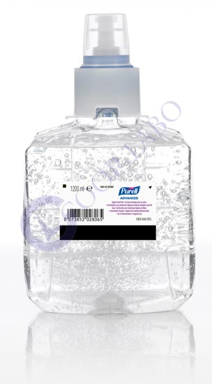 PURELL ADVANCED GEL LTX 1200ml x2